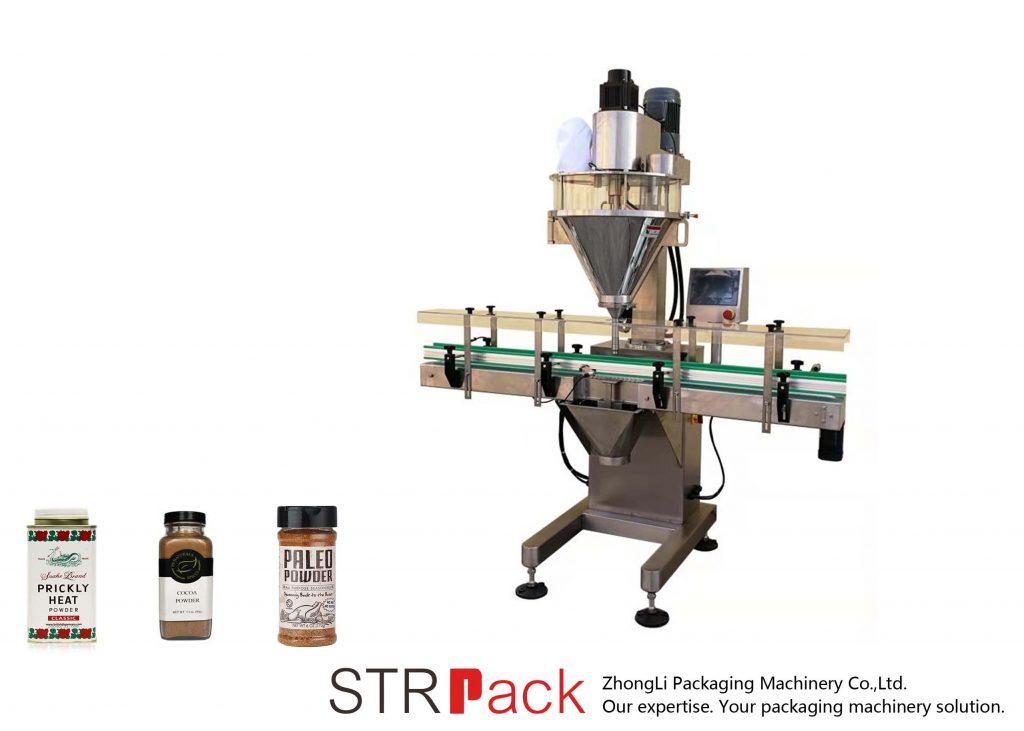 Automatikus csigapor-töltő gép
