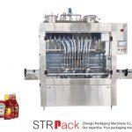 Automatikus mártással töltő gép