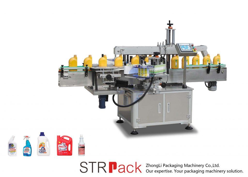 Automatikus egy- vagy kétoldalas öntapadós címkéző gép