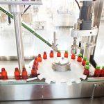 Automata folyékony vitamin-töltő gép kupakológép csomagoló vonal