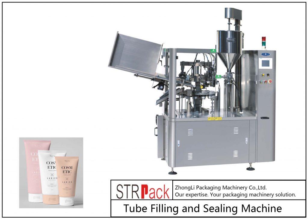 SFS-100 műanyag cső töltő és tömítő gép