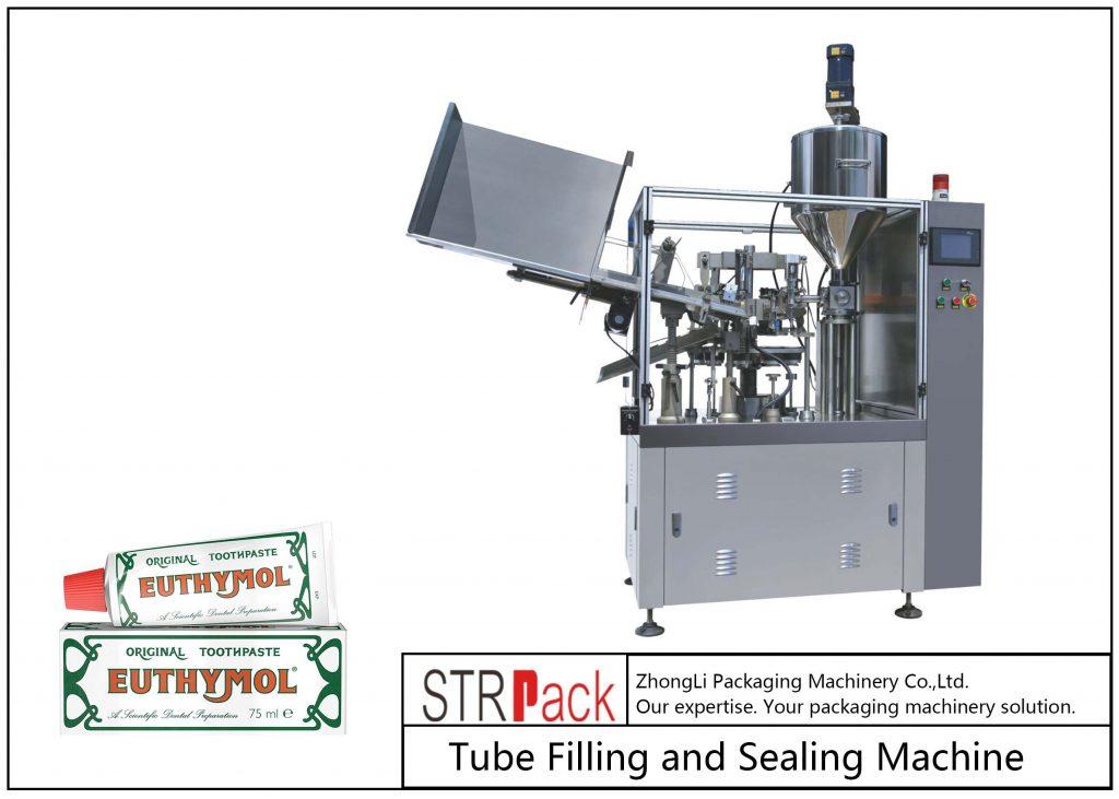 SFS-60Z fémcső töltő és tömítő gép